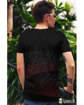 T-Shirt Evil Snake Gambler Wear