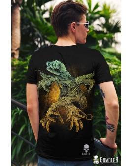 T-Shirt Zadruk przód/tył Gambler Wear 4