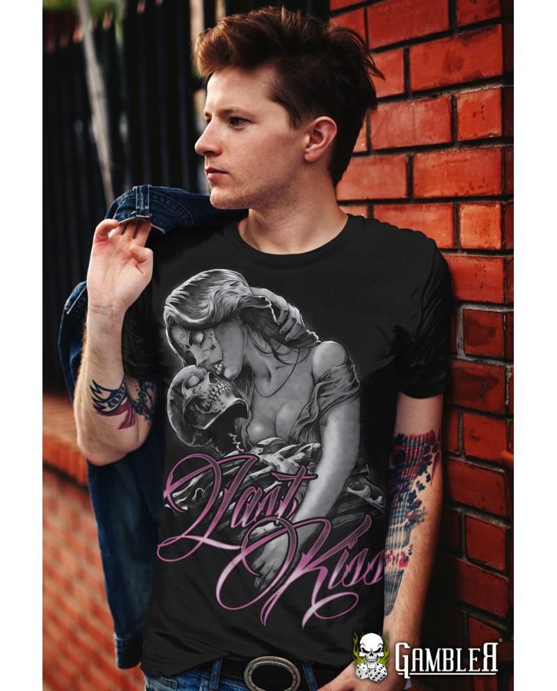 T-Shirt Last Kiss Gambler Wear