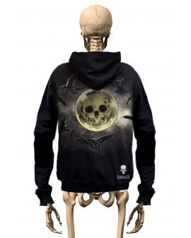 T-Shirt Zadruk przót/tył Gambler Wear Czarny 1