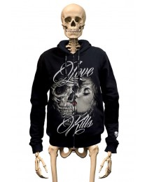 Hoodie Love Kills Gambler Wear