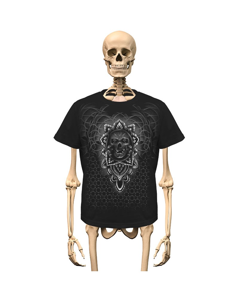 T-Shirt Ornamental Skulls Gambler Wear
