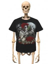 T-Shirt Knife and Grapes Gambler Wear