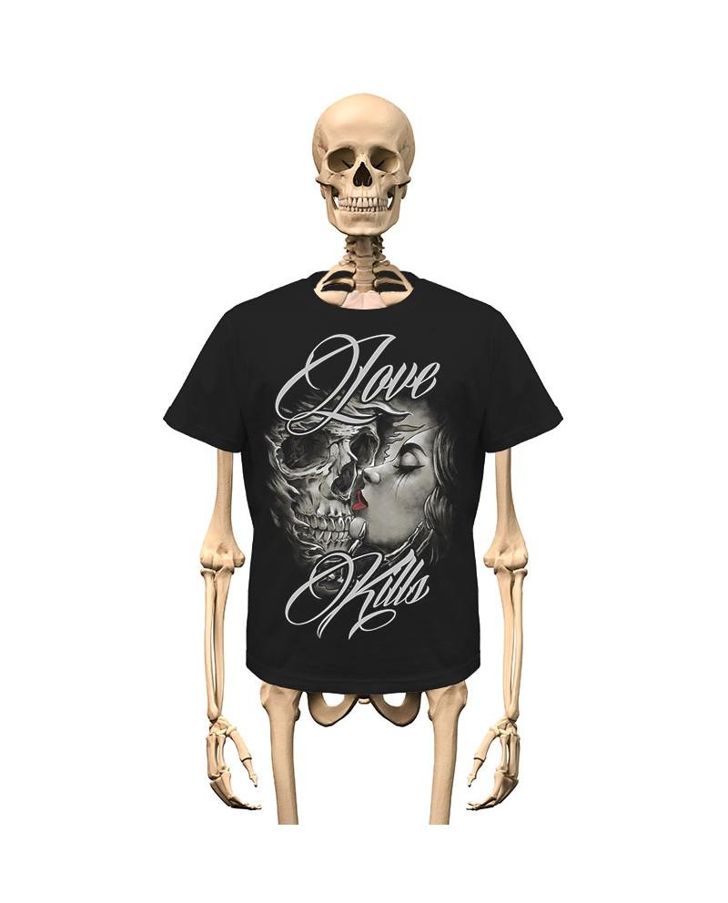 T-Shirt Love Kills Gambler Wear