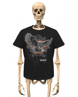 T-Shirt Owl Gambler Wear
