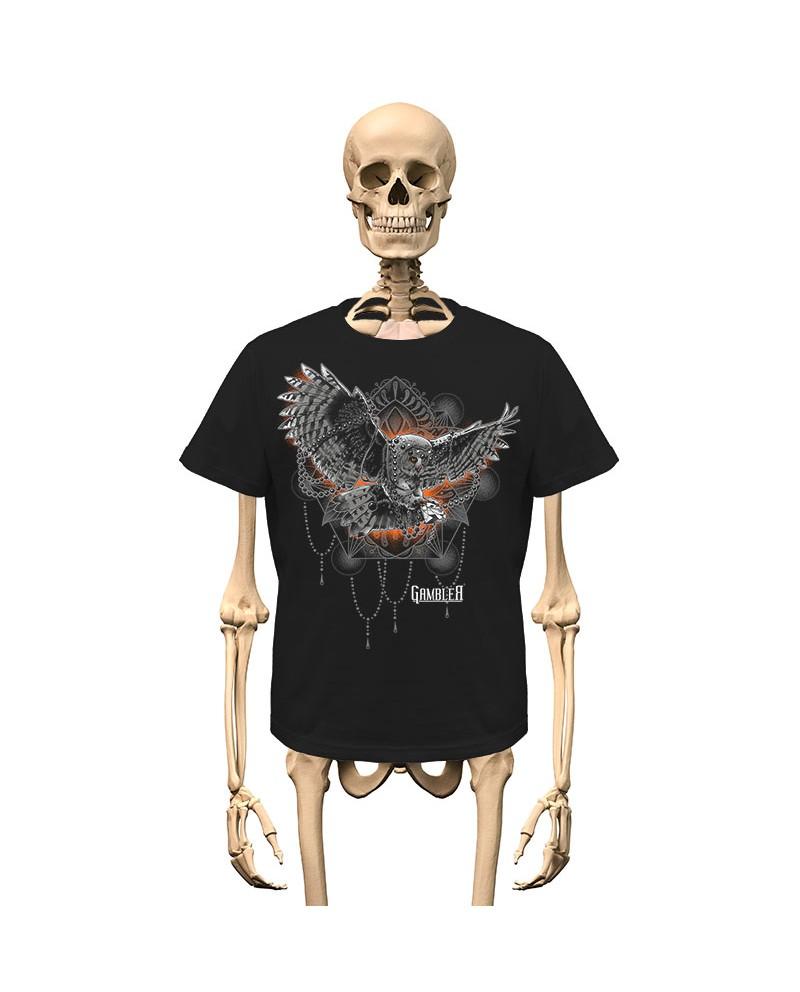 T-Shirt Owl Gambler Wear